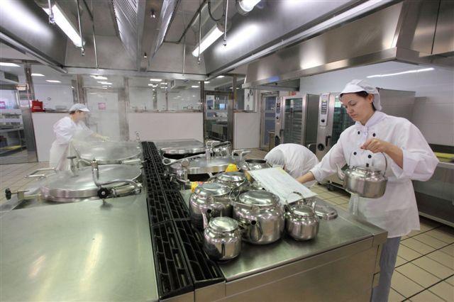 Imagen de la cocina del centro