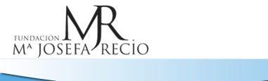 Logotipo de la fundación María Josefa Recio